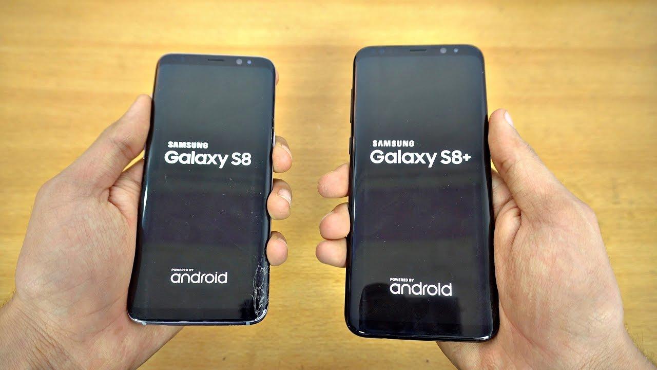 Puncte pro si puncta contra Samsung Galaxy S8 si Galaxy S8 Plus