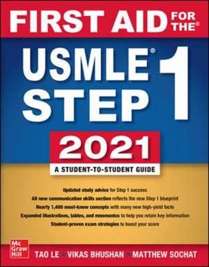 Carte de medicină First Aid for the USMLE Step 1 2021, Thirty First Edition